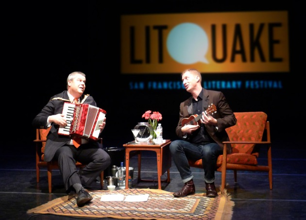 Daniel Handler and Andrew Greer in concert