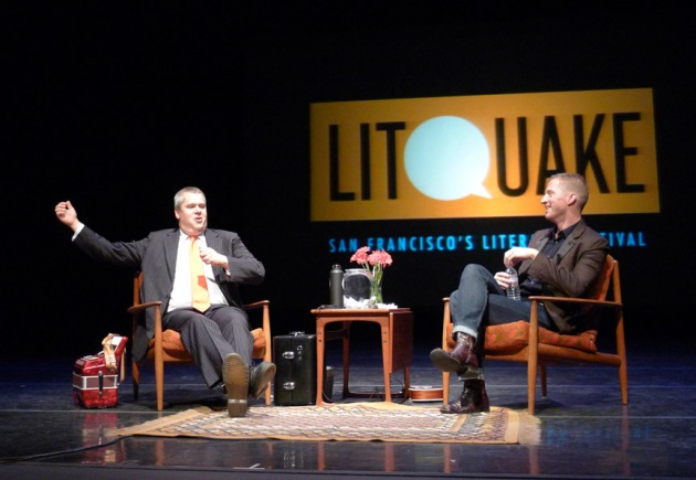 Daniel Handler and Andrew Greer